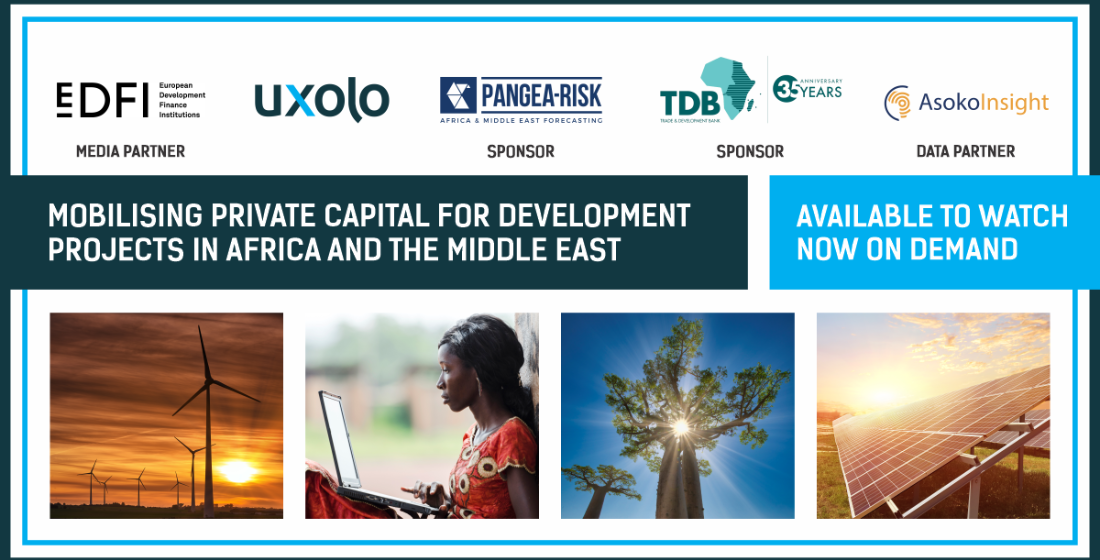 Mobilising Private Capital for Development Projects in Africa and the Middle East