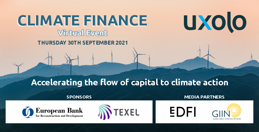 UXOLO CLIMATE FINANCE   Register your place today